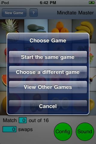 choose game